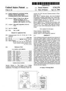 Intellectual Property: Example US Patent