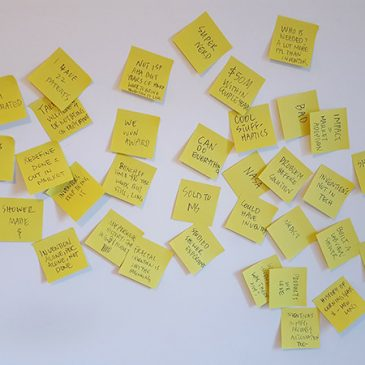 Great Talks Start With Sticky Notes